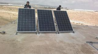 Um Al Khair with solar panels 3