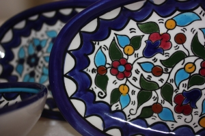 Ceramics from the Hebron Glass & Ceramic Factory