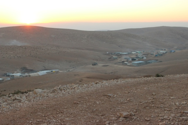 Bedouin village